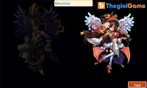 Tạo nhân vật trong game