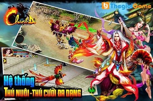 Game Chinh đồ mobile