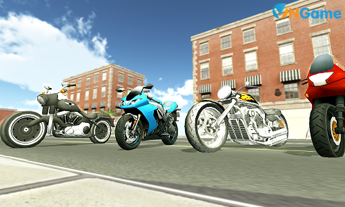 Moto trong Moto Racer 3D