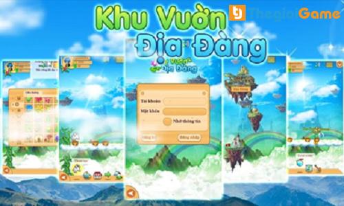 Game online Khu vườn địa đàng