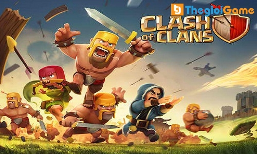 Game chiến thuật Clash of Clan