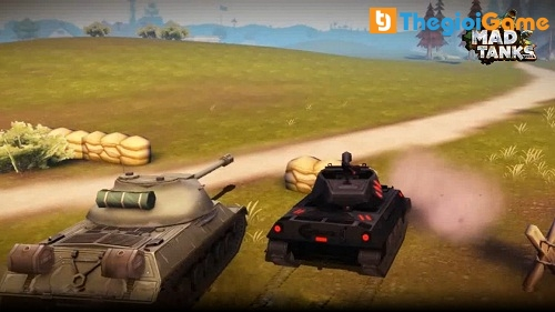 Game mobile Mad Tanks