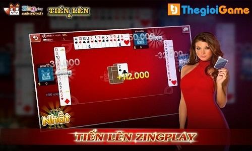 Game đánh bài Tiền lên Zingplay