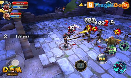 Hình ảnh chiến đấu trong game