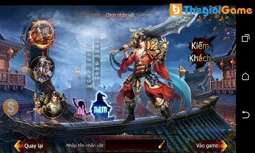 Các nhân vật trong game
