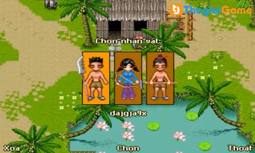 Chọn nhân vật game KPAH