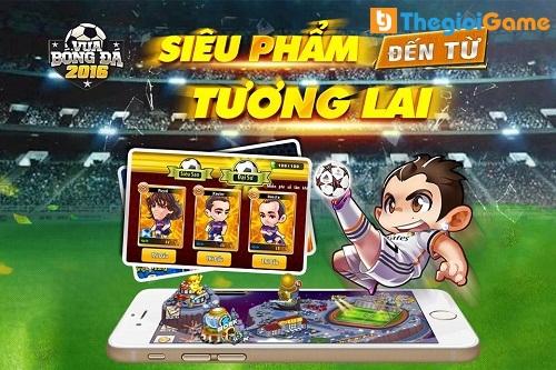 Siêu phẩm game bóng đá 2016