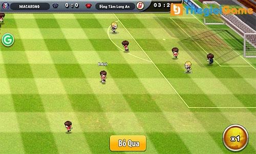 Hình ảnh thi đấu trong game