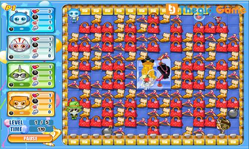 Hình ảnh trong trò chơi Bomb it 7