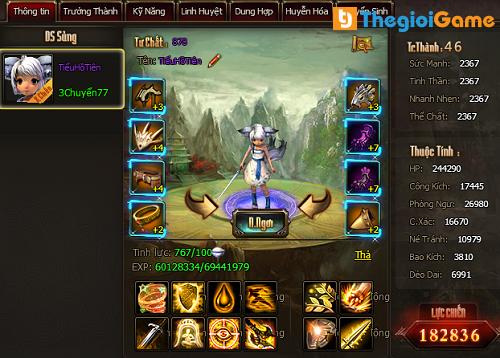 Hệ thống nhân vật trong game