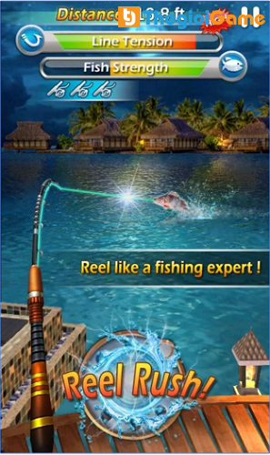 Game fishing mania 3D