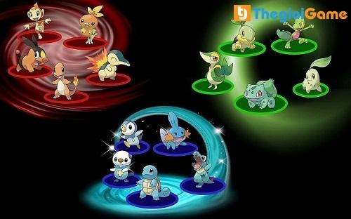 Quá trình tiến hóa Pokemon