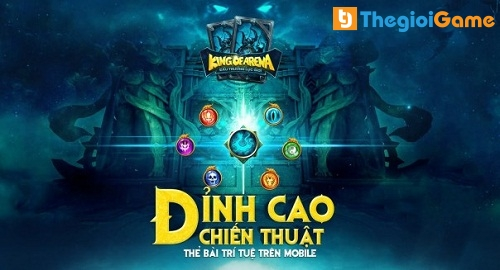 Game king Of Arena đỉnh cao của chiến thuật