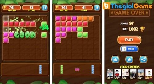 Game xếp hình cổ điển Block Puzzle
